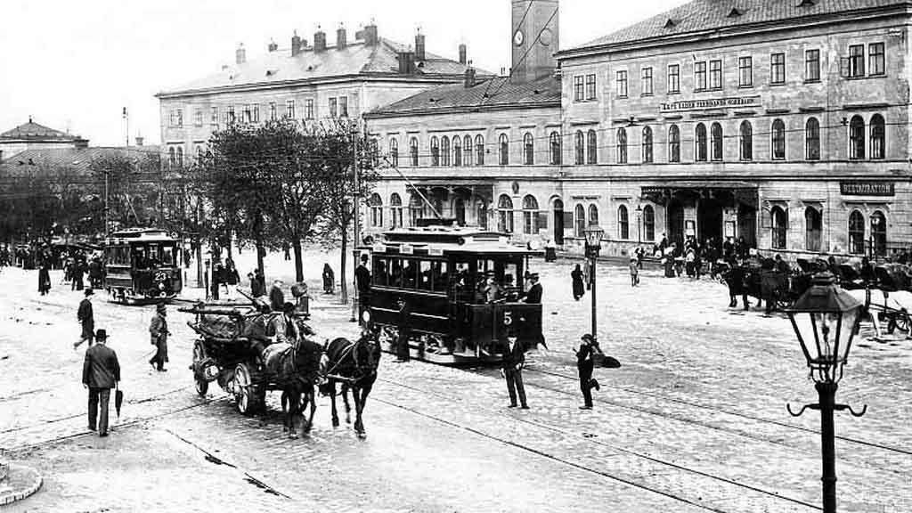 První elektrická tramvaj v Brně