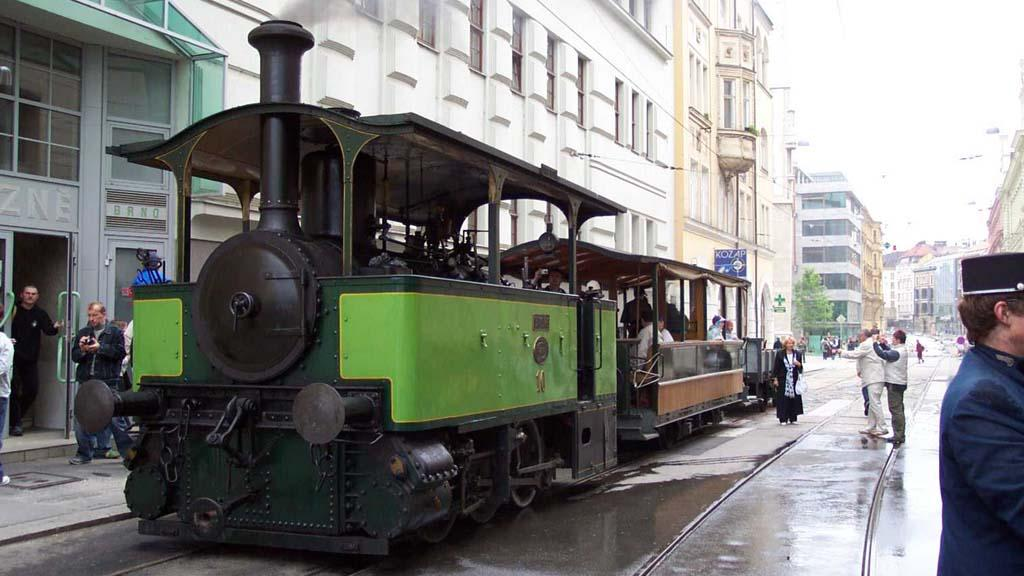 Caroline - brněnská parní tramvaj
