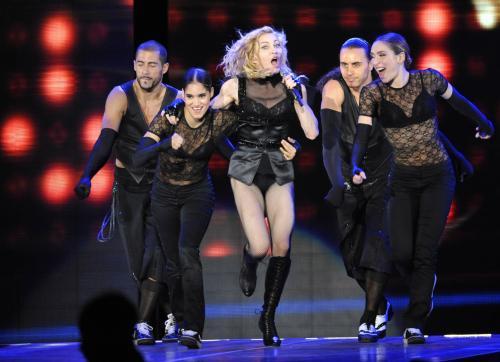Koncert Madonny v Praze