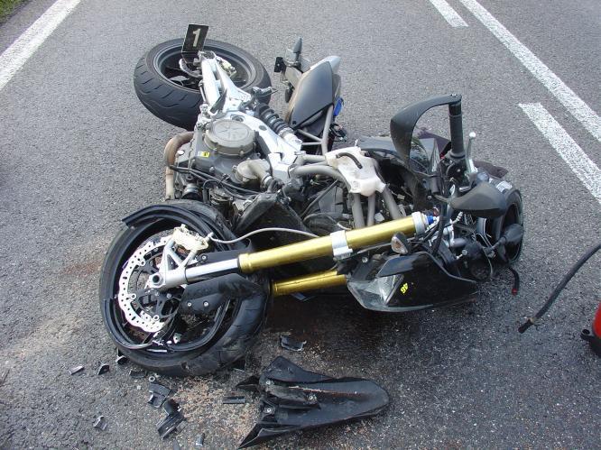 Havárie motorky
