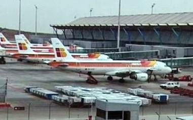 Letiště v Madridu