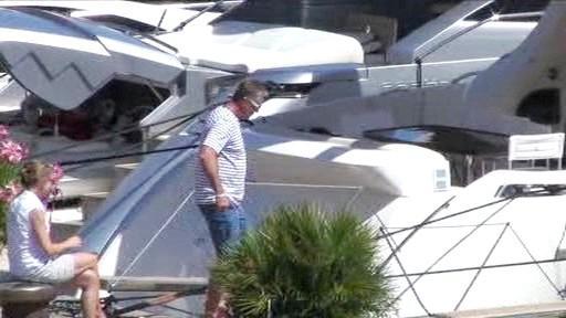 Mirek Topolánek nastupuje na jachtu