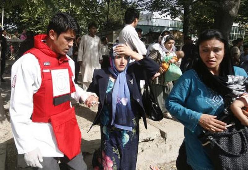 Exploze v Kábulu