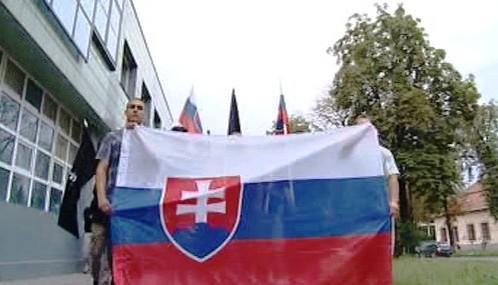 Shromáždění nacionalistů v Prešově