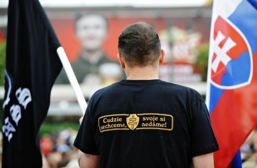 Protiromské shromáždění v Prešově