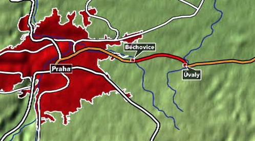 Rekonstrukce železnice mezi Běchovicemi a Úvaly je v nedohlednu