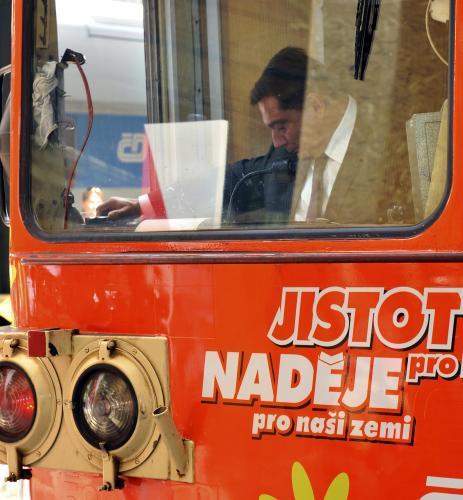 Volební vlak ČSSD