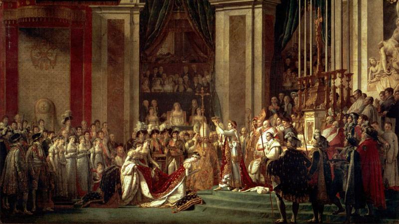 Jaques-Louis David:Pomazání Napoleona I. a korunovace císařovny Josefíny