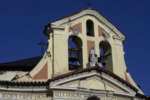 Následky zemětřesení ve střední Itálii