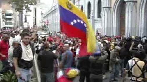 Demonstrace proti bolívaristické doktríně