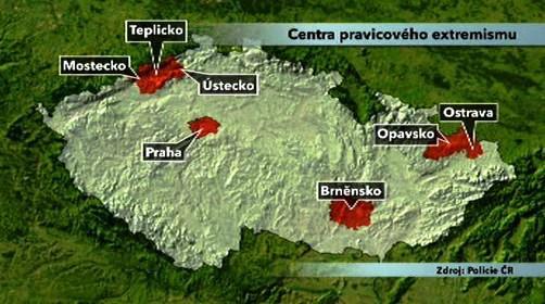 Centra pravicového extremismu v ČR
