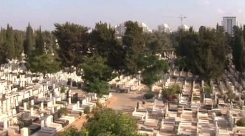Hřbitov v Jeruzalémě
