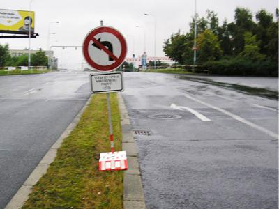 Zákaz odbočení do uzavřené ulice
