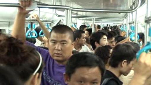 Metro v Pekingu