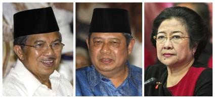 Kandidáti indonéských prezidentských voleb