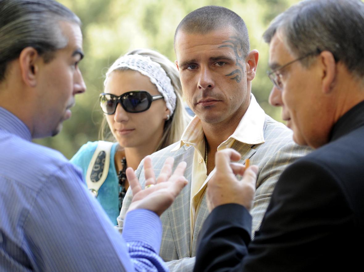 Robert Rosenberg před soudem