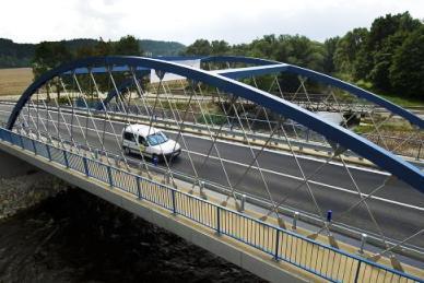 Nový most v Roudném