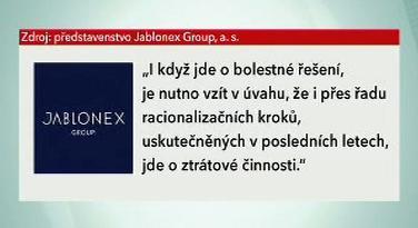 Vyjádření představenstva Jablonex Group, a.s.