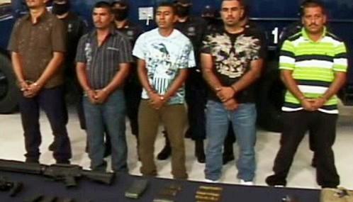 Muži podezřelí z přípravy atentátu na mexického prezidenta