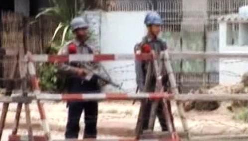 Ostraha barmské věznice Insein