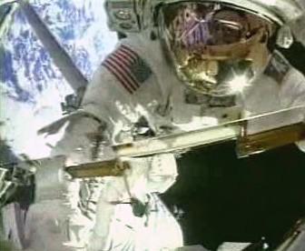 Americký astronaut