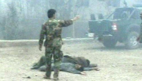 Oběti násilí v Afghánistánu