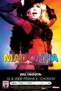 Madonna 2009 Sticky & Sweet Tour