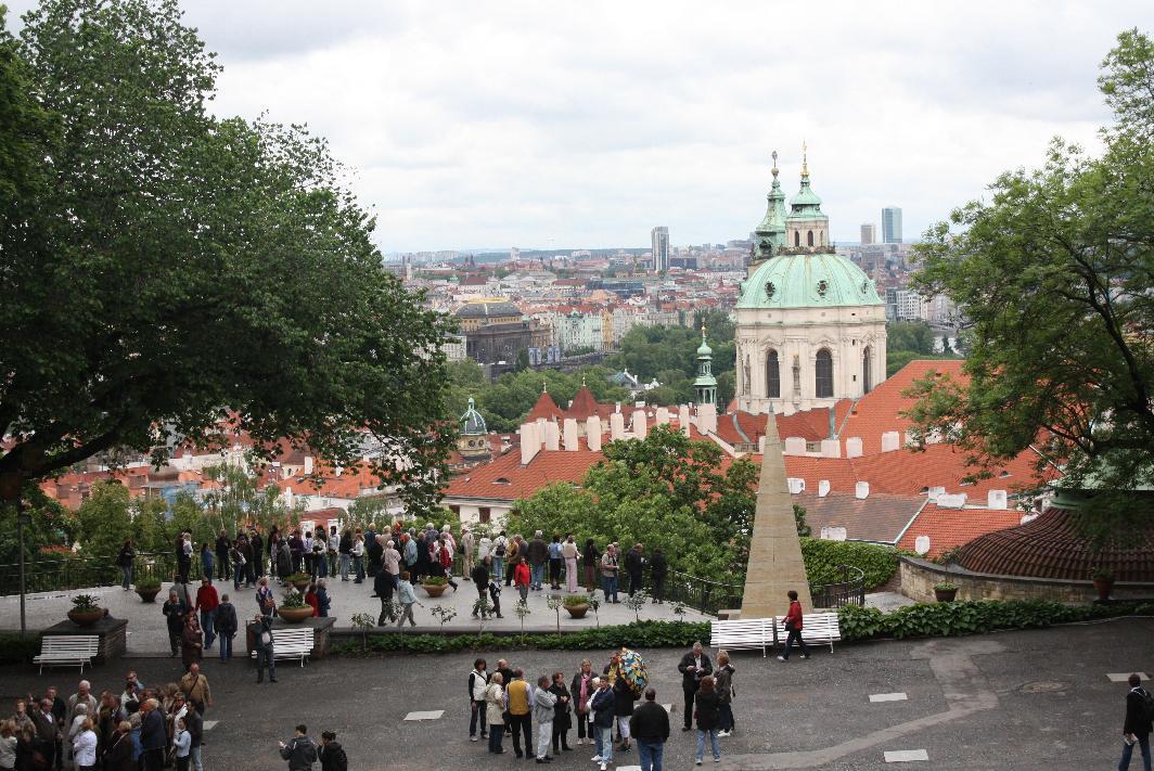 Pohled na Prahu z Pražského hradu