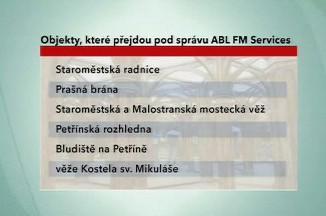 Pražské památky do rukou ABL