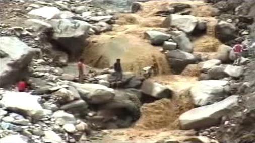 Sesuv půdy v Indii