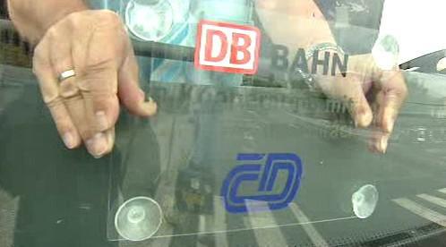 Autobusová linka ČD a Deutsche Bahn