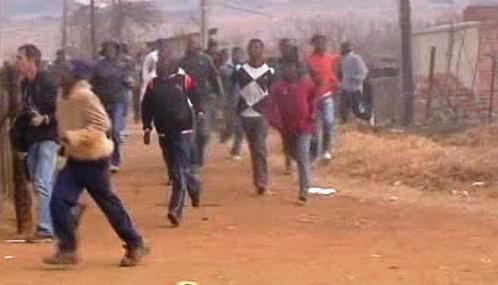 Nepokoje v Jižní Africe