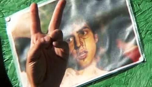 Demonstrace za oběti nepokojů v Íránu