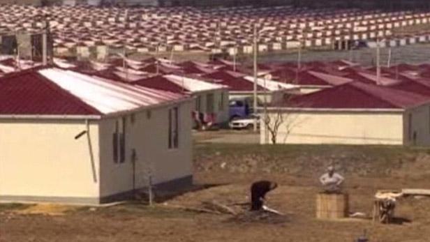 Domy pro uprchlíky z Osetie