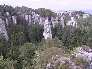 Skalní město v Českém ráji