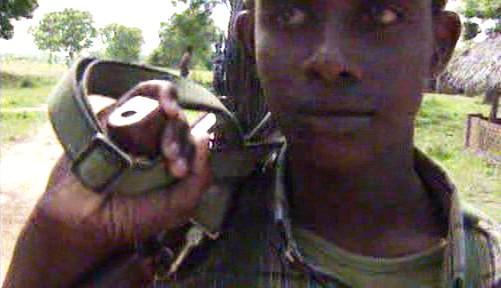 Bojovník Tamilských Tygrů