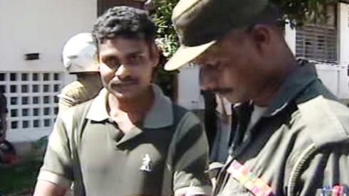 Vojáci na Srí Lance