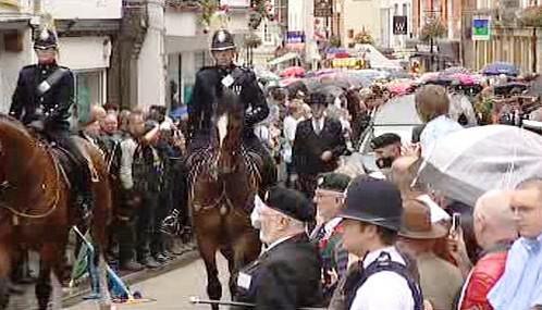 Pohřeb Harryho Patche