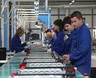 Pásová výroba