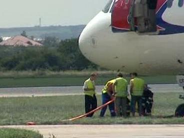 Vyprošťování letadla