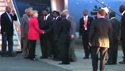 Hillary Clintonová přicestovala do Keni