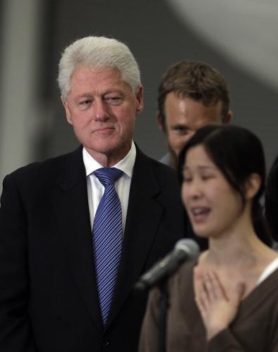 Bill Clinton a Laura Lingová