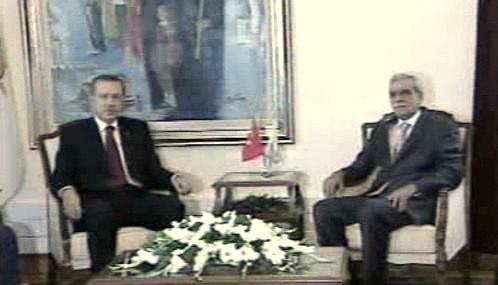 Recep Tayyip Erdogan a Ahmet Türk