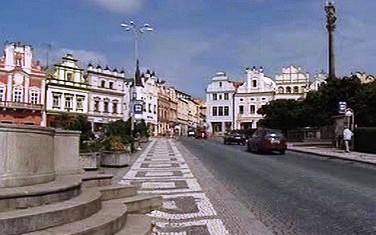 Náměstí v Havlíčkově Brodě