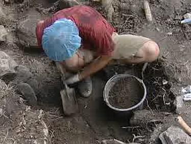 Archeologický výzkum v Netolicích