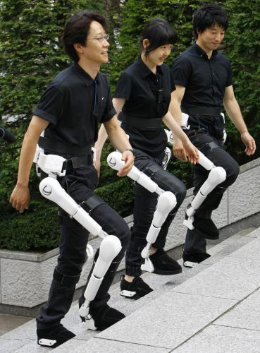 Robotický rehabilitační oblek v akci