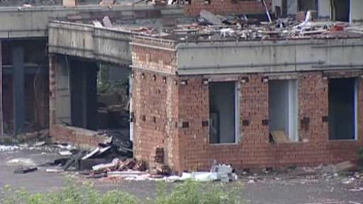 Sektorové centrum určené k demolici