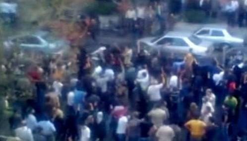 Protesty během Ahmadínežádovy inagurace