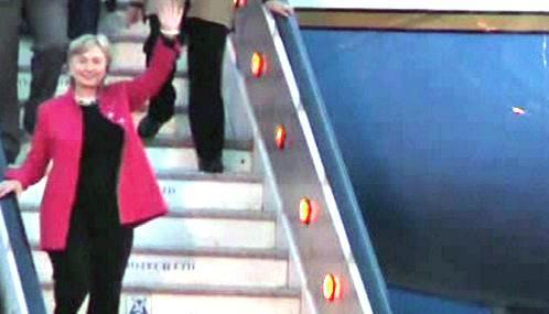 Hillary Clintonová zahájila cestu po Africe