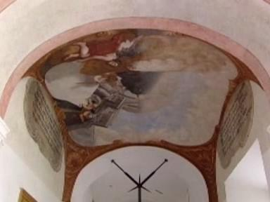 Freska v Sázavském klášteře